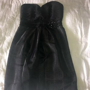 Black Size 10 cocktail BCBGMAXARIA dress